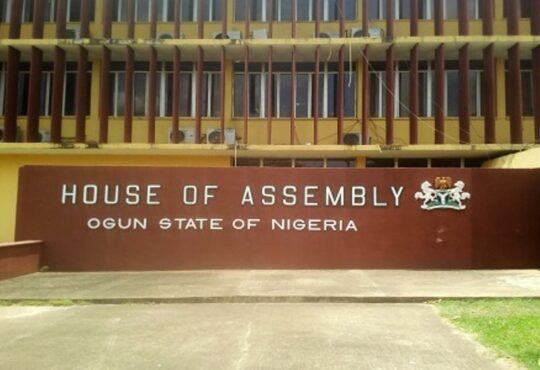 Ogun Assembly passes N338.6bn 2021 Appropriation Bill