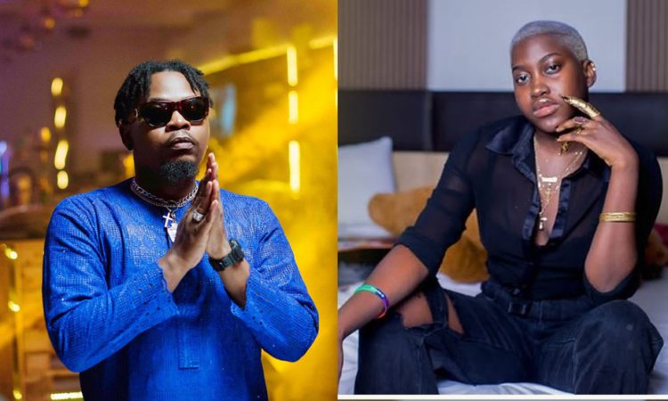 """""""You give the world the impression that you're kind"""" - YBNL princess drags YBNL boss, Olamide"""