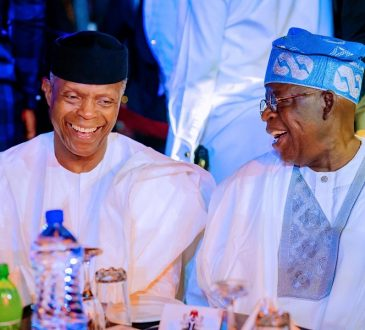 2023: Meddling with Osinbajo, Tinubu's undeclared presidential ambitions