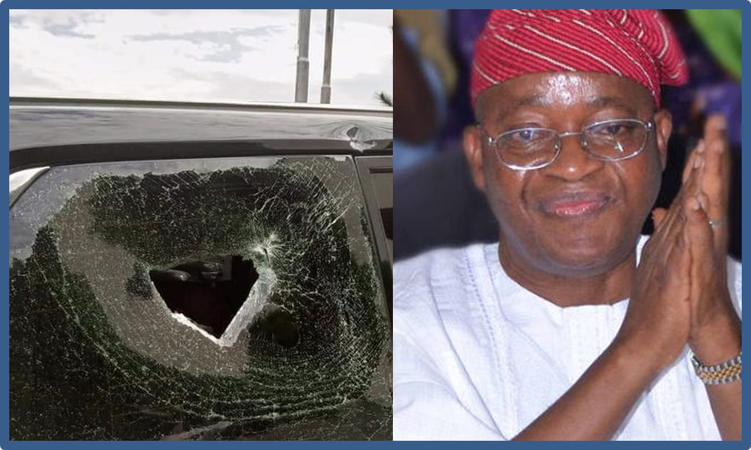Hoodlums Attack Governor Oyetola's Convoy In Osun