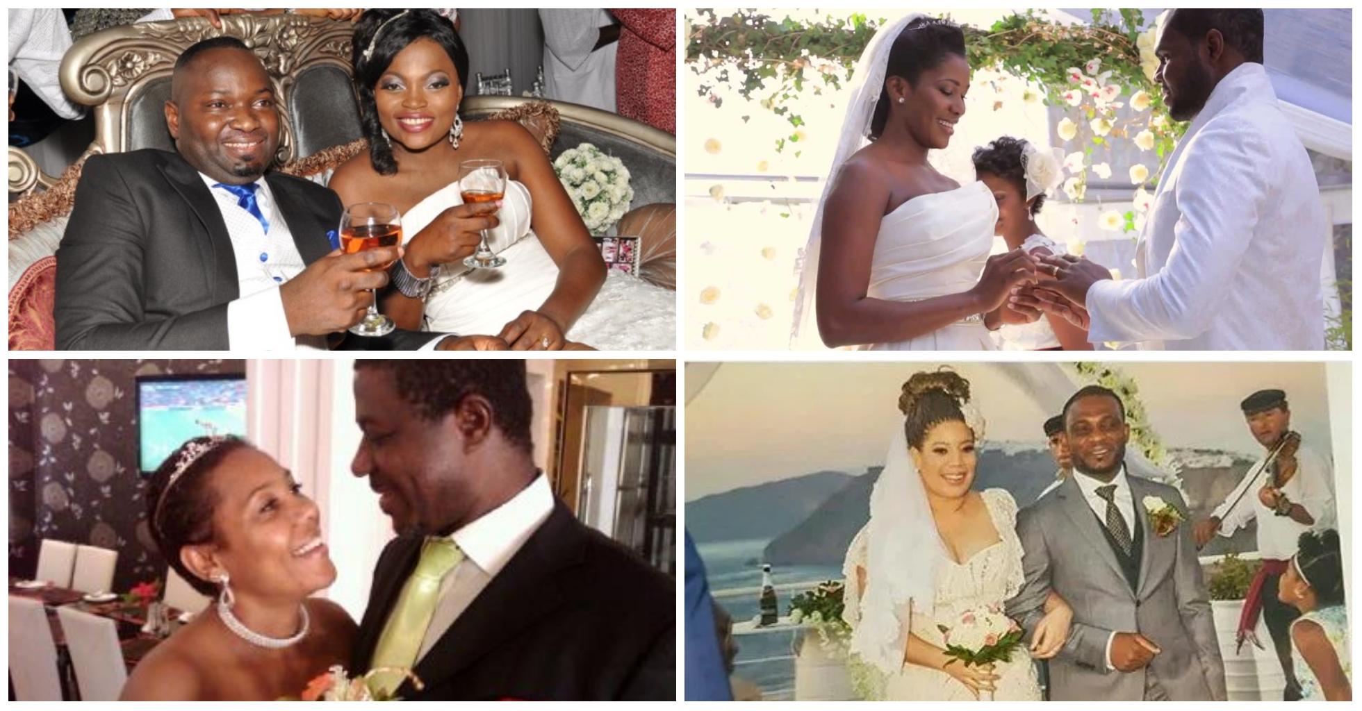 Top 10 Nollywood Actresses Who Have Married More Than Once ( No 1 Married 5 Husbands)