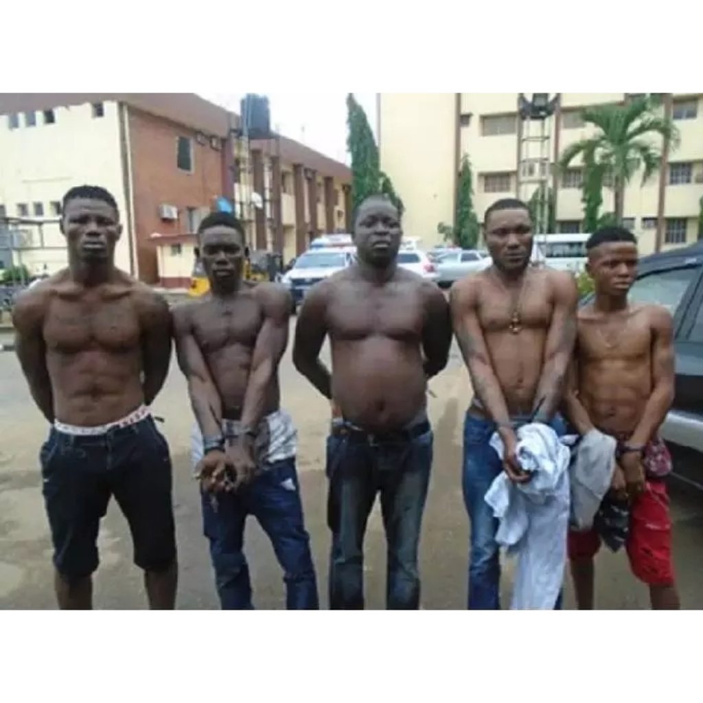 """We Use New Born Babies For Powers That's Why No Bullet Can Kill Us"" Notorious Arm Robbers confesses"