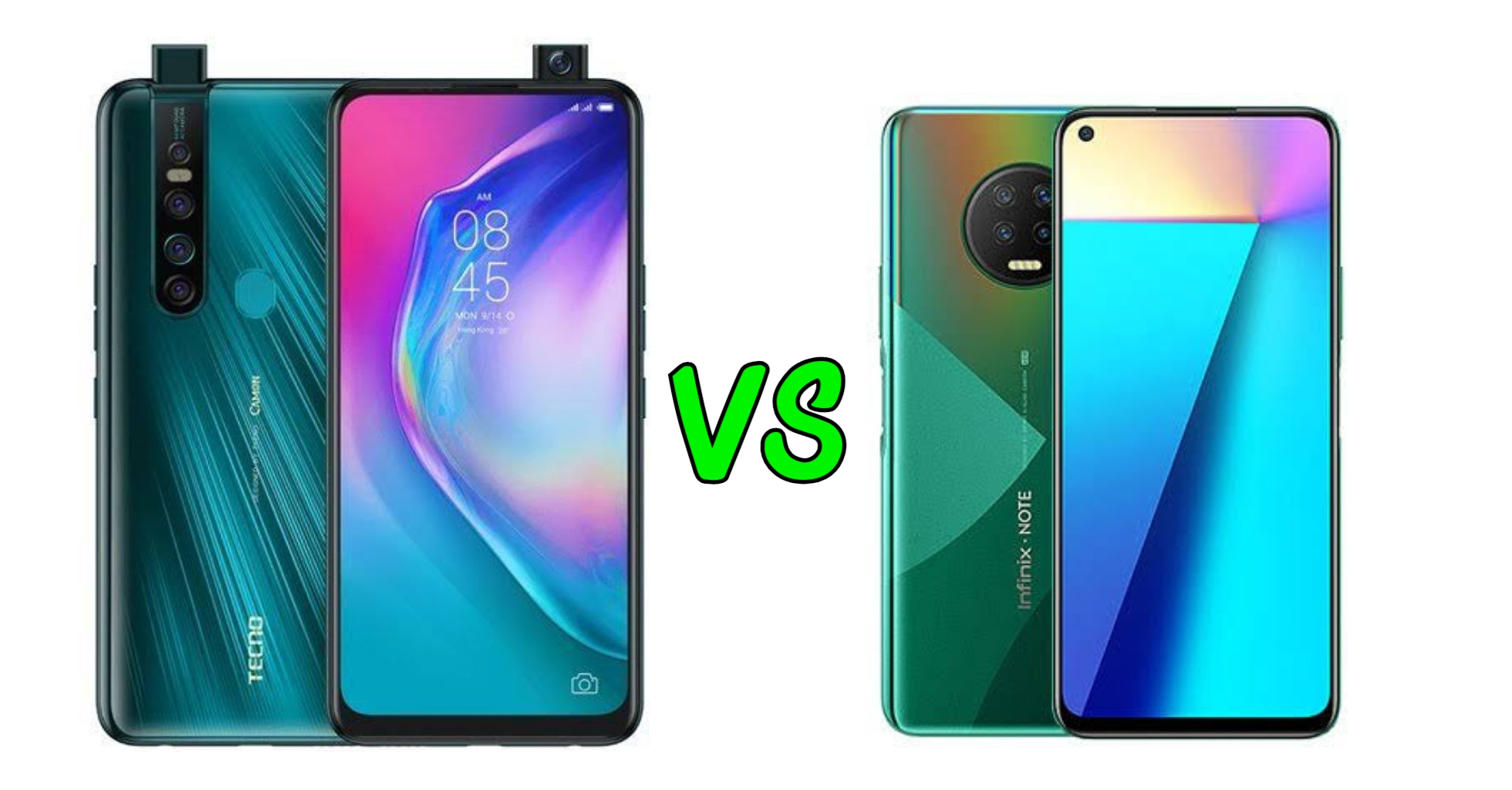Camon 15 premier Vs Infinix Note 7