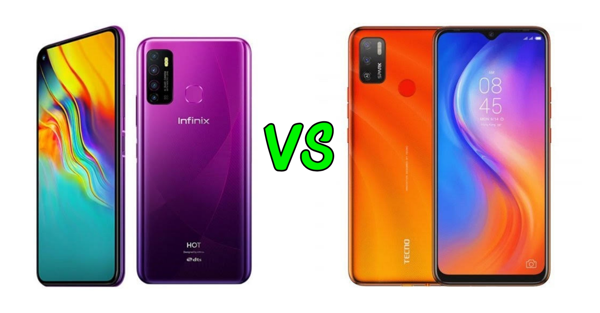 Infinix Hot 9 vs Tecno spark 5
