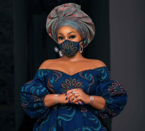 45-year-old Actress, Rita Dominic finally unveils her lover