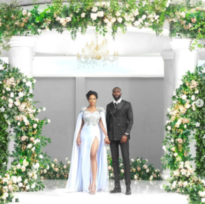 #BBNaija stars, Khafi and Gedoni officially tie the knot