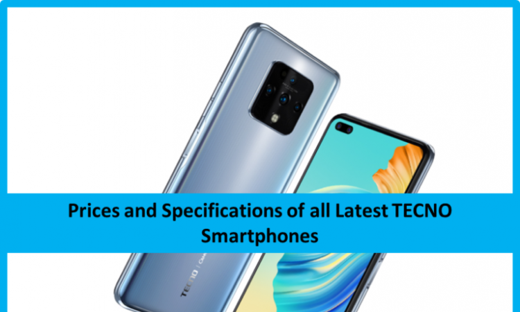 TECNO Smartphone Prices