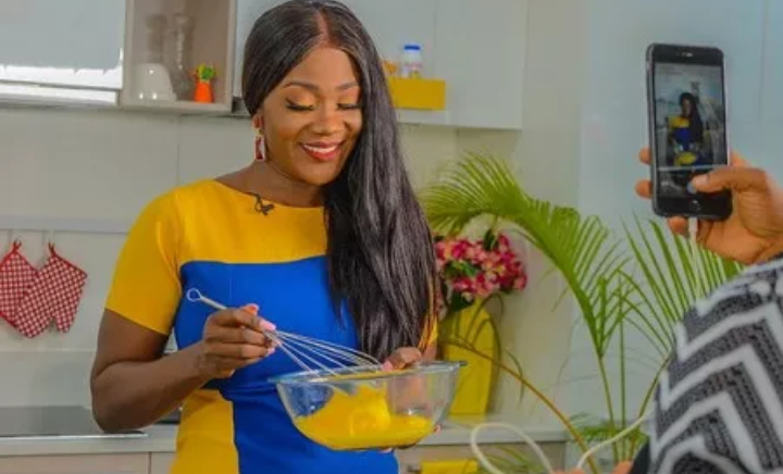 Mercy Johnson kitchen talk show
