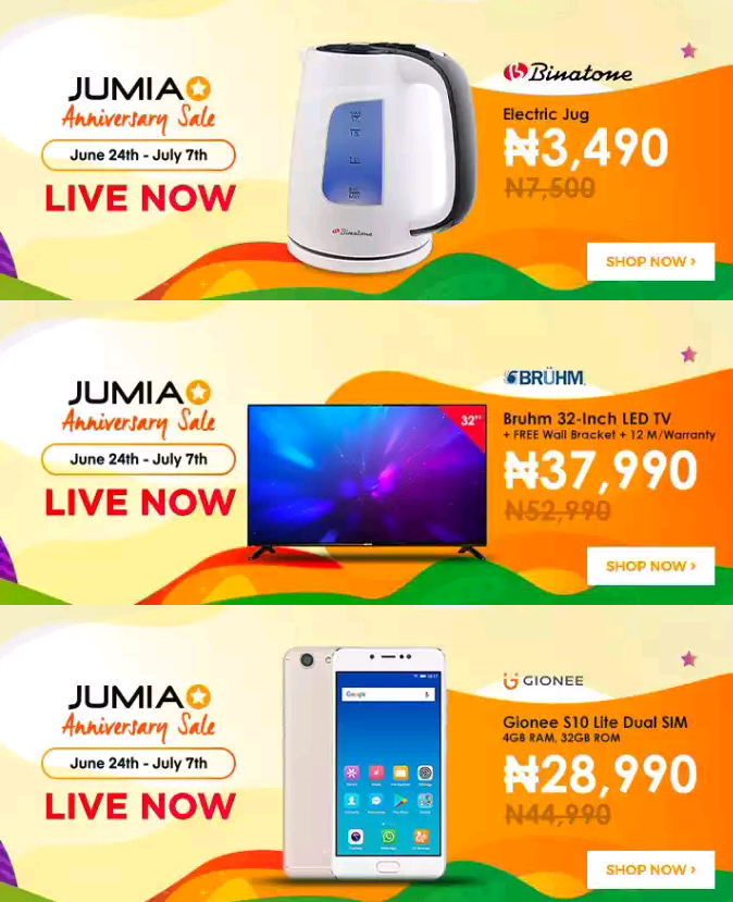 Jumia 7th anniversary