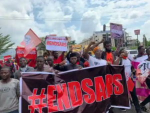 Video Compilation Of Several Endsars Protests Across Nigeria Today