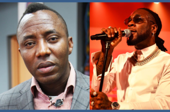 Burna Boy declines Sowore's invitation to join Revolution Now protest