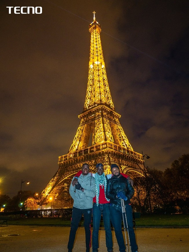 TECNO'S CAMission Made a Touch Down in Paris - See Pictures