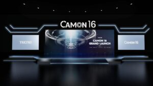TECNO CAMON 16 series Are Coming with the First Online AR Launch!