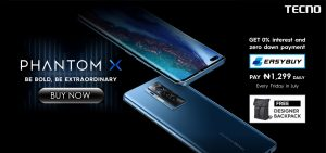 TECNO Phantom X now available for purchase in Nigeria