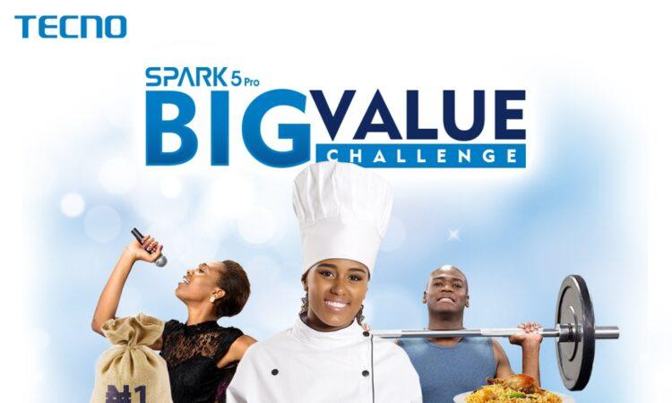 TECNO Spark 5 Pro Big Value Challenge