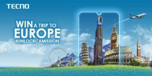 How To Win A TECNO Trip To Europe This Ember Season