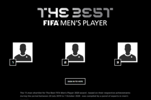 Best FIFA Football Awards 2020 Vote - See How to Vote
