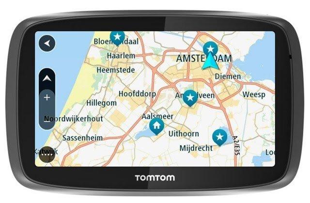 Tom Tom Map