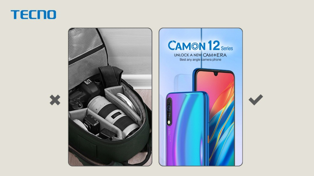 Why the Camon 12 Is Your Best Travel Companion
