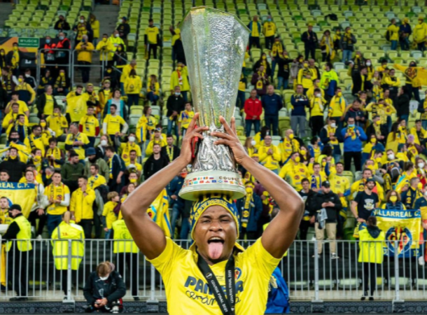 Samuel Chukwueze, Mikel Obi see list of Nigerians to have lifted UEFA Europa League