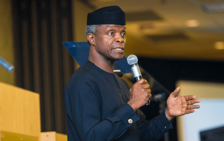 Cryptocurrency Ban - VP Osinbajo Speaks Against Ban On Cryptocurrency