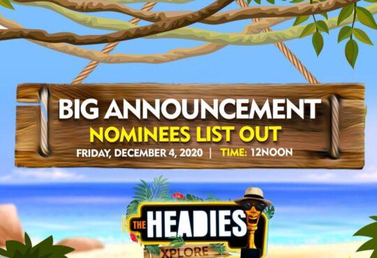 14th Headies Nominees – See full list of Headies 2020 awards