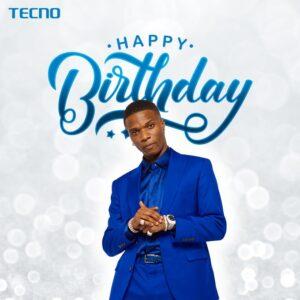 TECNO celebrates Brand Ambassador, Wizkid at 30