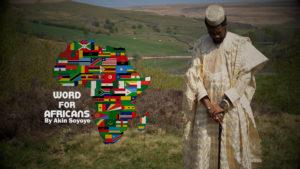 Word for Africans by Akin Soyeye