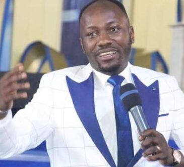 IGP Orders Probe As Apostle Suleman Allegedly Sleeps With Pastor's Wife