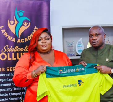 Eniola Badmus Emotional As She Bags Multi-Million Ambassadorial Deal With LAWMA