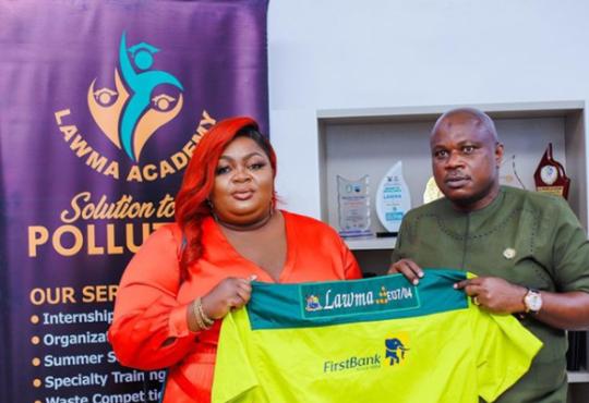Eniola Badmus Emotional As She Bags Multi-Million Ambassadorial Deal With LAWMA