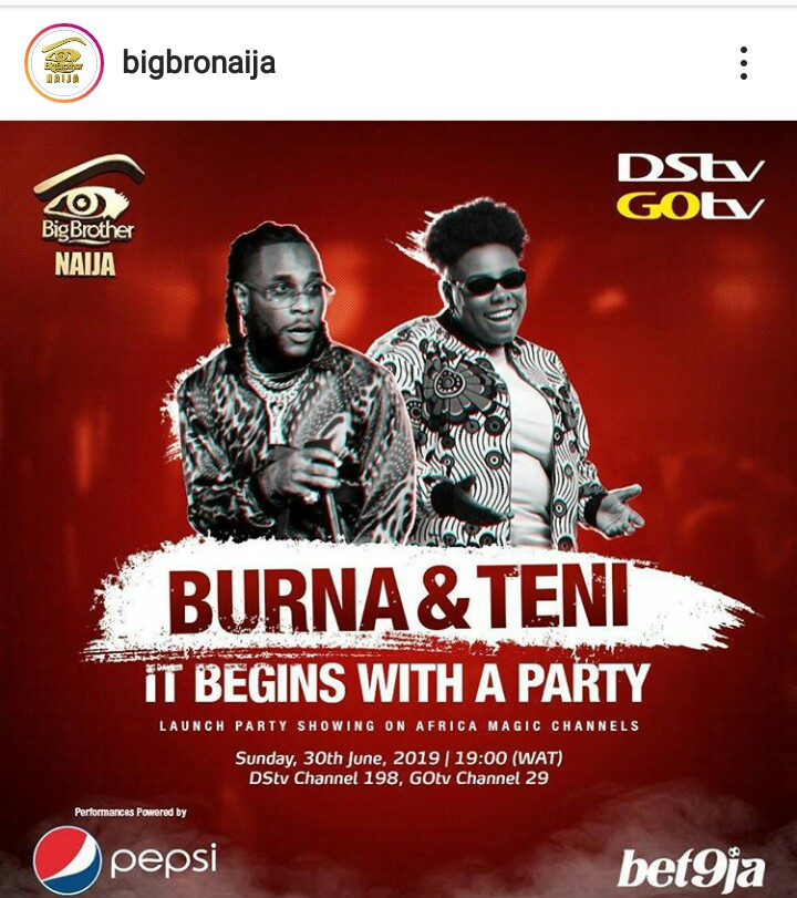 Big Brother Naija 2019 Opening Party
