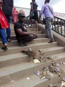 Nigerian King of beggars