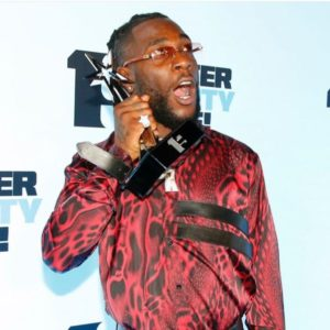 Burna Boy is crowned Best African Act at the 2019 MTV Europe Music Awards