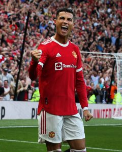 Cristiano Ronaldo Scores Twice On Manchester United Return