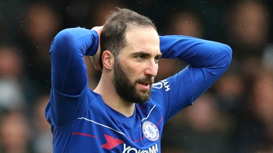 Official: Chelsea confirm exit of Higuain and four other players