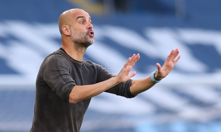 UCL: Guardiola reveals what he told Man City players during half-time of PSG win