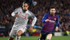 Van Dijk Named Fastest Player in 2018-2019 Champions League