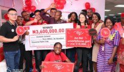Teacher Turned millionaire in itel's 10k Dollars Promo [Video]
