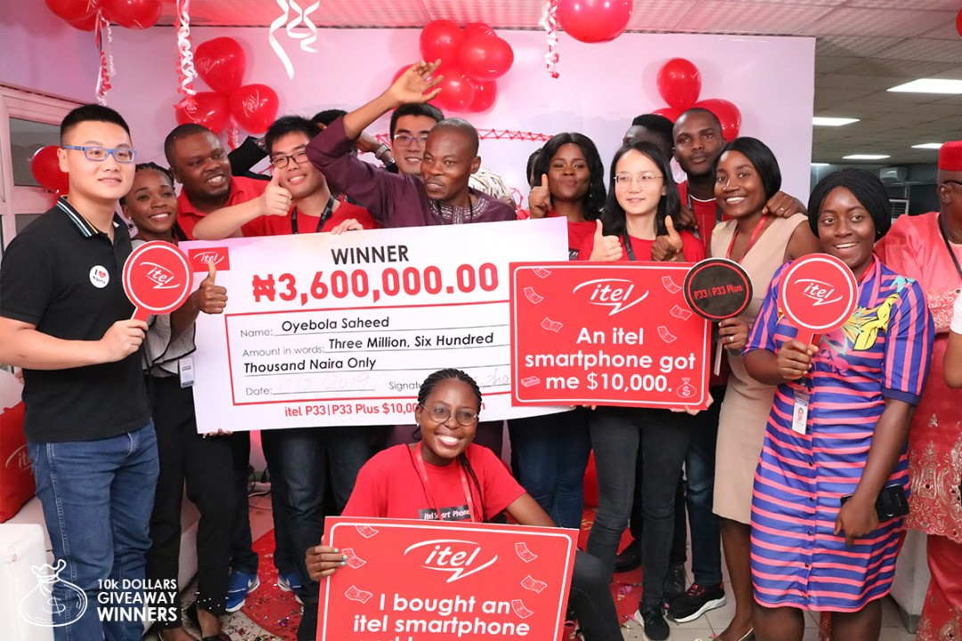 Teacher Turned millionaire in itel's 10k Dollars Promo [Video]