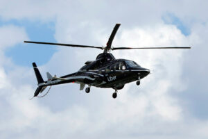 BREAKING: Helicopter crashes at Opebi, Lagos