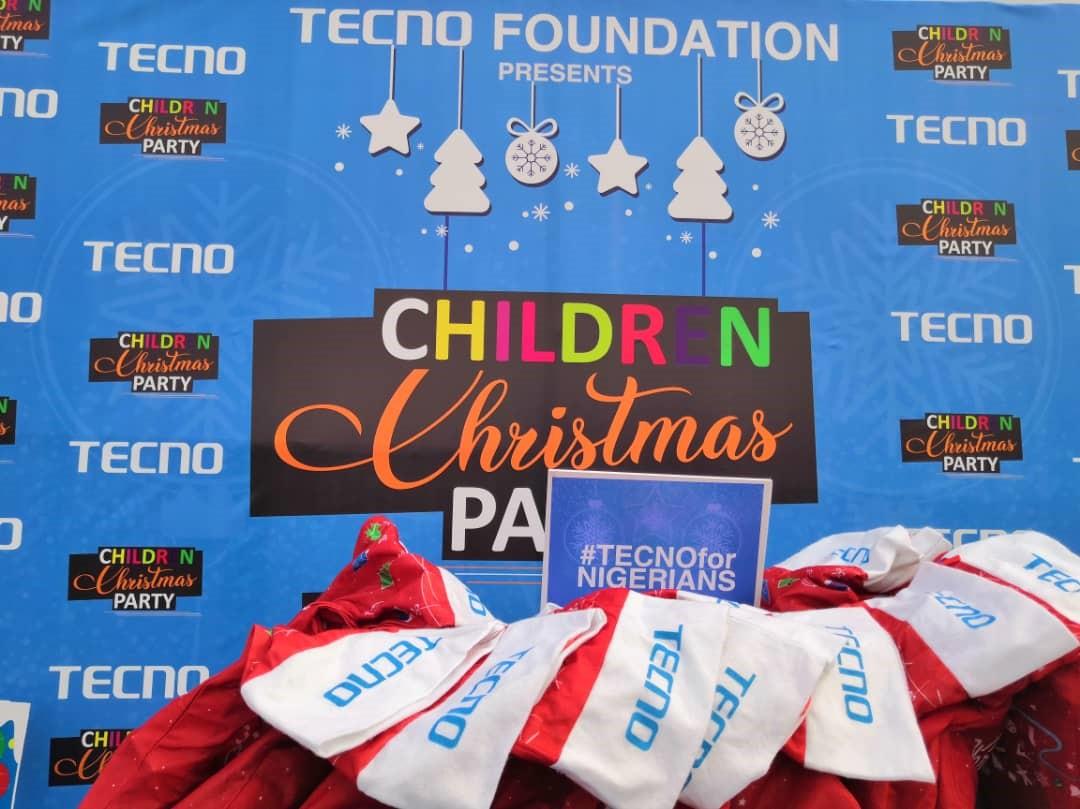 TECNO Organizes Christmas Party for Children in Lagos [Photos]