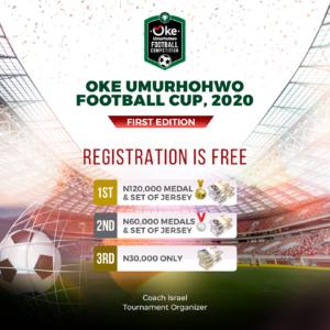 Delta: Oke Umurhohwo organises football cup for youth