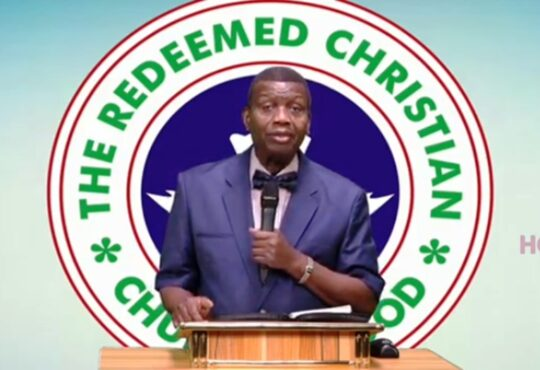 CAN, RCCG, Winners cancel Crossover Night services RCCG Cancels Cross-Over Service Nationwide