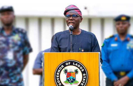 Sanwo-Olu has tested positive for COVID-19 - Commissioner for Health announced on Saturday.