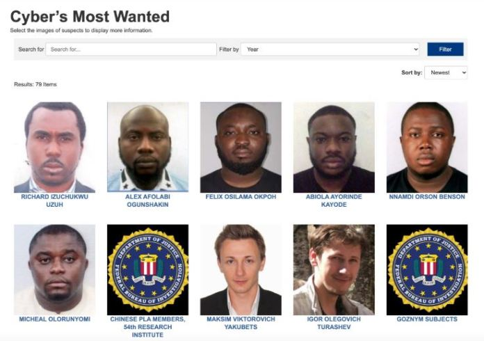 Most Wanted Cyber Criminals