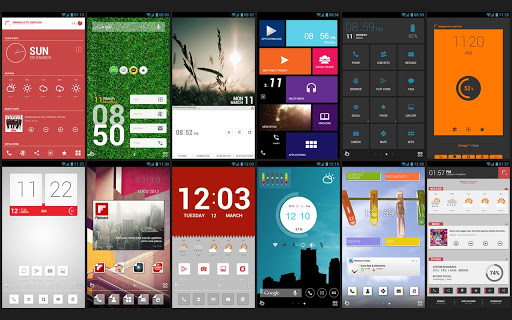 top android launchers 2018