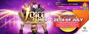 VSKIT partners StarTimes to host Voice to Fame - See Details