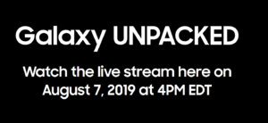 watch 2019 Galaxy Unpacked event live – Click on the below image to watch